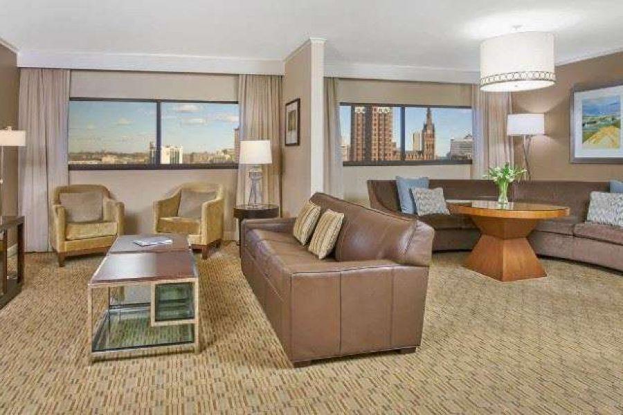 Grand Suite at the Hyatt Regency Milwaukee