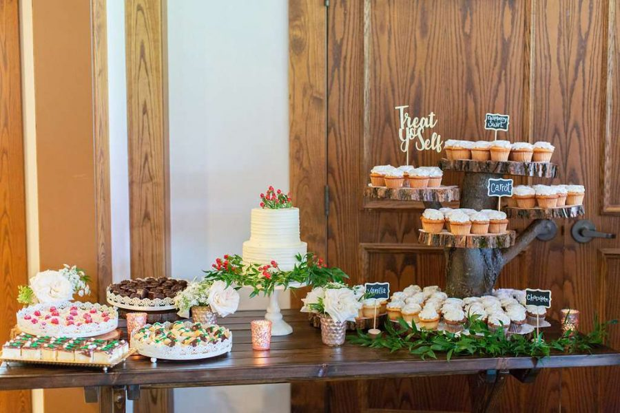 Dessert Table at the Clubhouse at the Bog