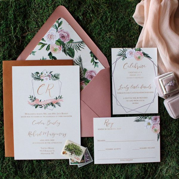 Custom wedding invitations- DCo Lovenotes