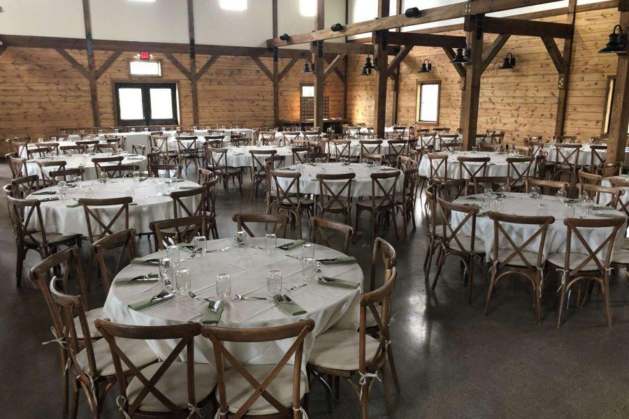 Wedding Reception at the Barn at the Bog