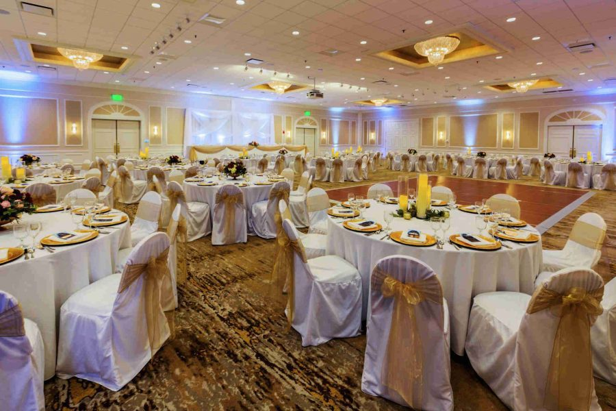 Ingleside Ballroom Wedding Reception Setup