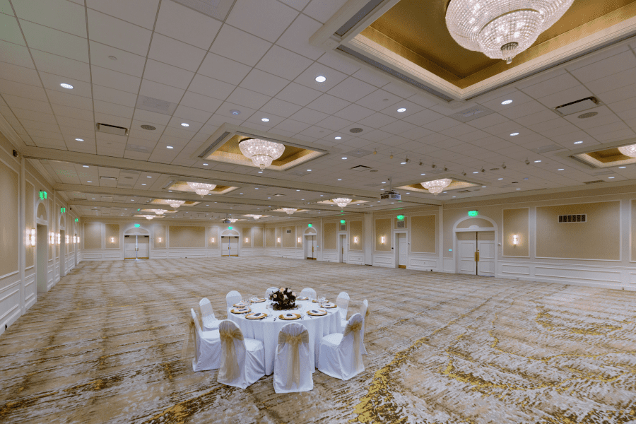 Ballroom at The Ingleside Hotel
