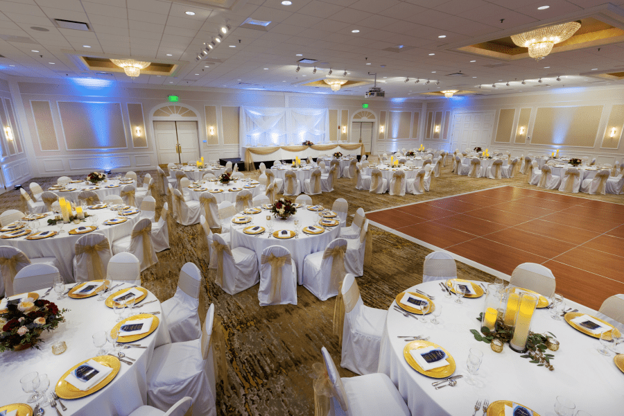 Ingleside Ballroom Wedding Reception