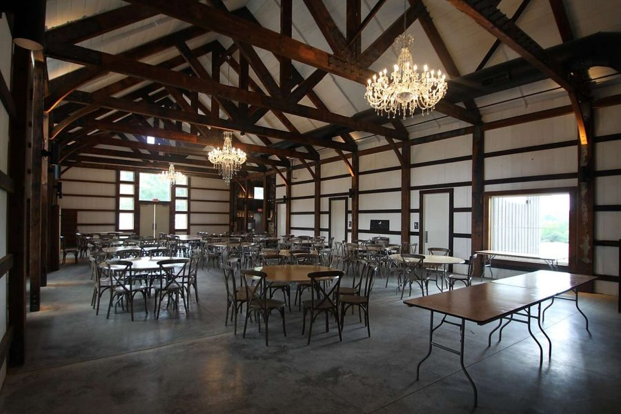 Wedding Reception space at Lilac Acres