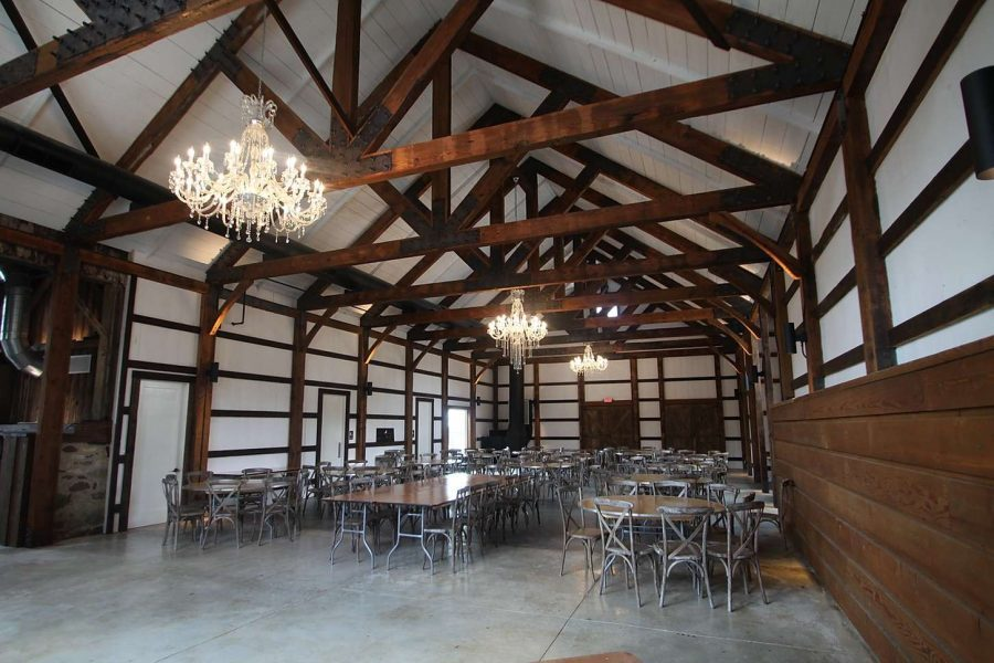 Whitewashed Barn reception venue Lilac Acres