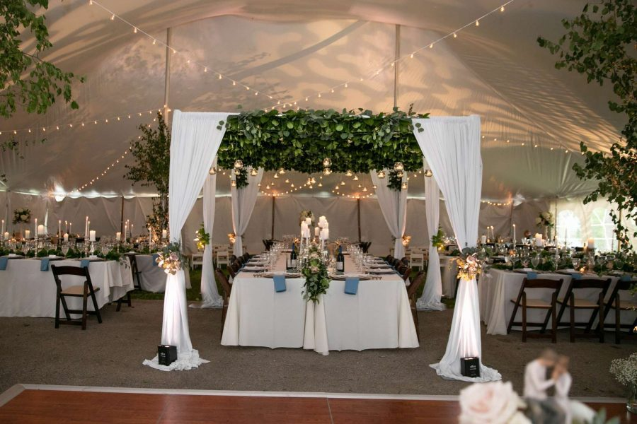 beautiful wedding rentals from All Star Rentals