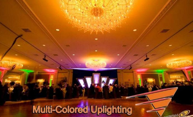 Multi Colored Uplighting