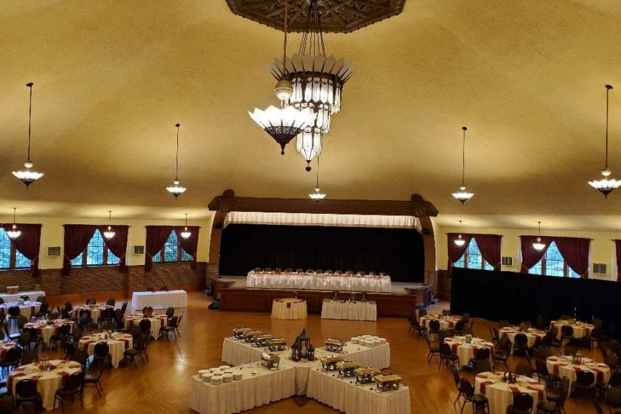 WEdding Reception at the Chandelier Ballroom