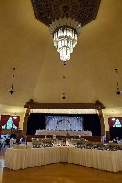 Stunning details at the Chandelier Ballroom in Hartford, WI