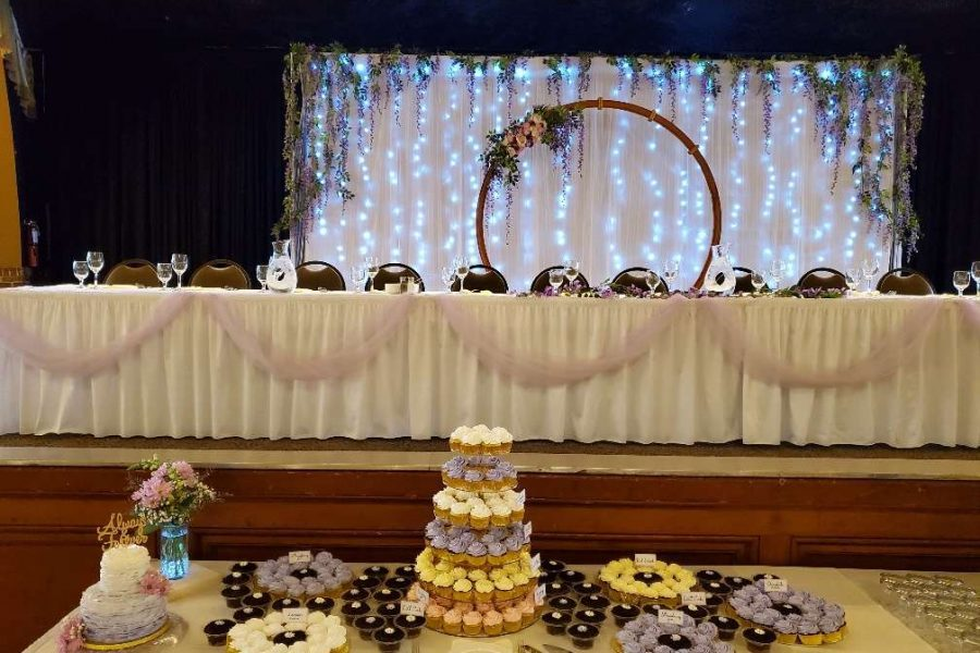 Sweets table at Chandelier Ballroom