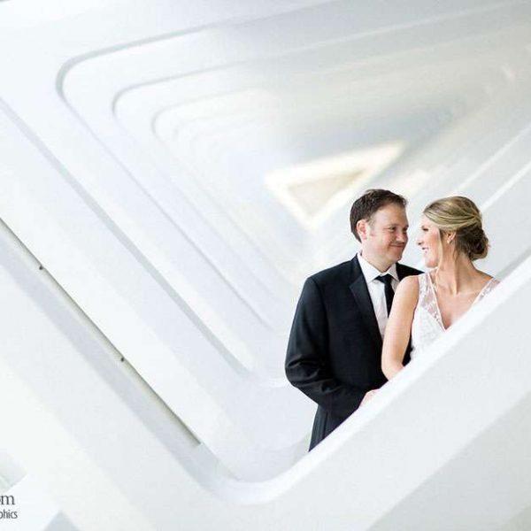 Wedding Couple Inside MAM