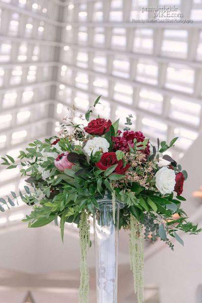 Wedding Flowers inside MAM