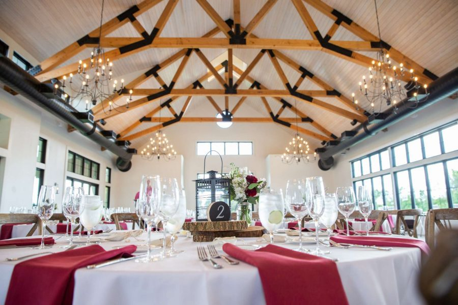 Wedding reception at the Carriage House