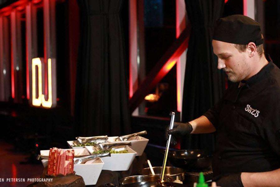 Catering by Sazs for Jan Serr Studio