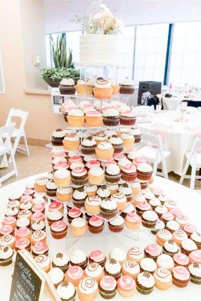 Sweet Perfections Bake Shoppe Cupcake Display