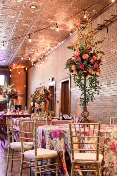 Story Hill Firehouse wedding reception