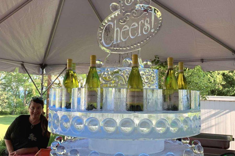 Wine Chiller Cheers Fountain