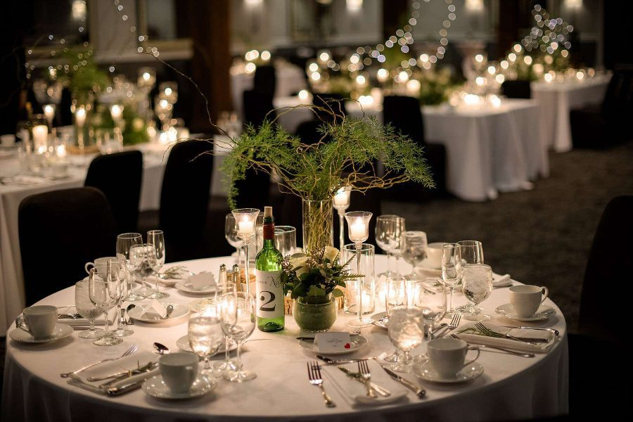 Elegant Wedding Reception at the Delafield Hotel