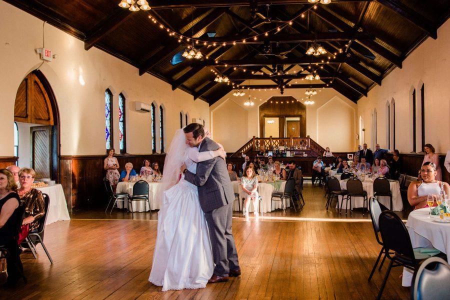 wedding at Dekoven Center in Racine, WI