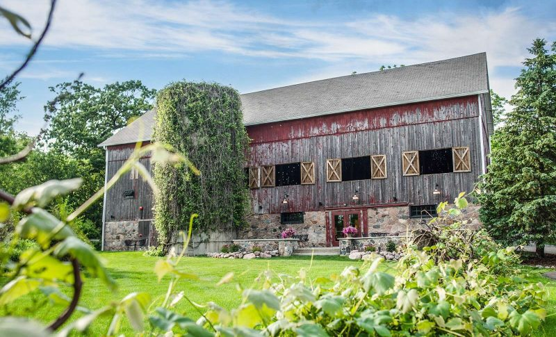 Barn and Silo at the Farm at Dover- A wedding and special event venue