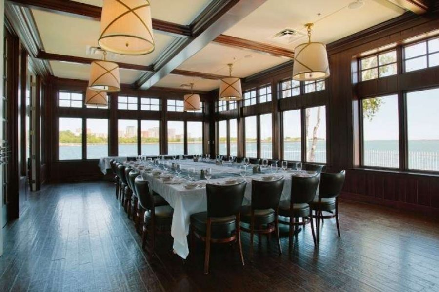 The Harbor House private event space