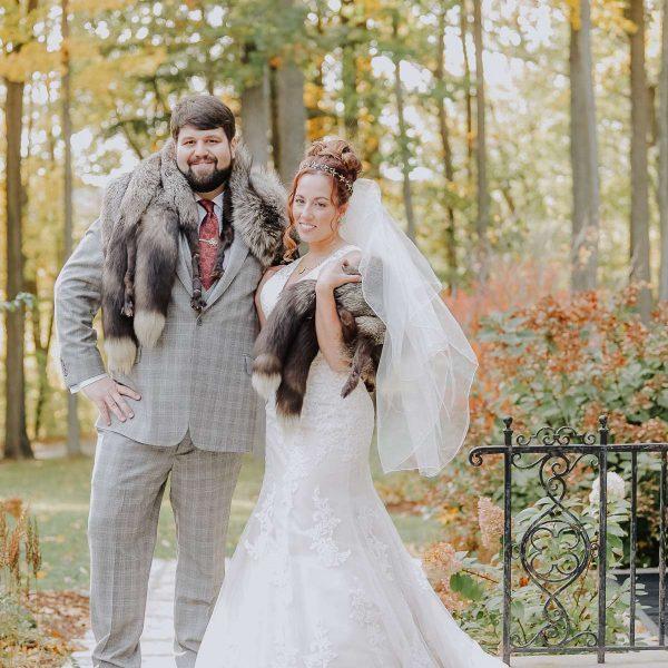 Harry Potter themed wedding portraits