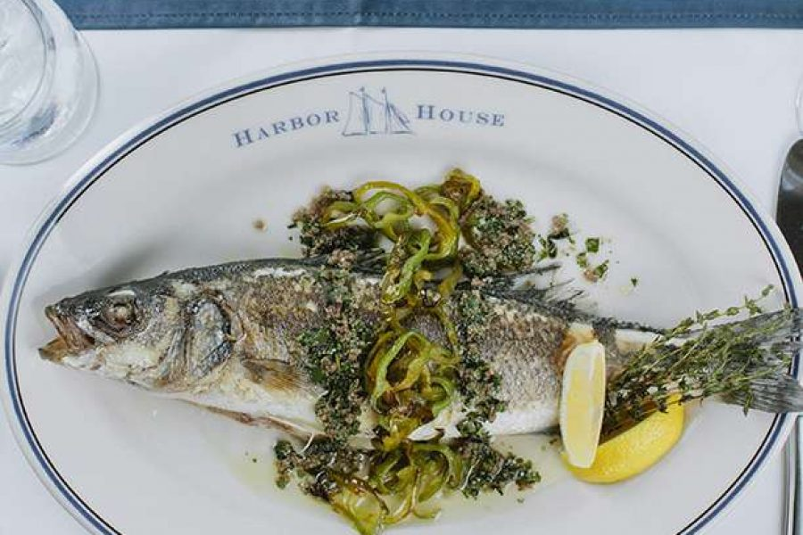The Harbor House cuisine