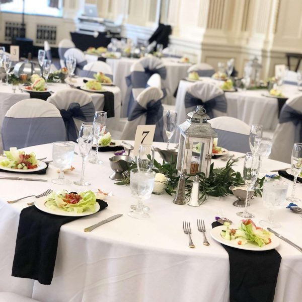 Elegant wedding reception at the Astor Hotel MKE