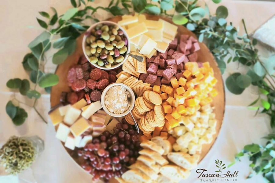 TH Catering Appetizer cheese display