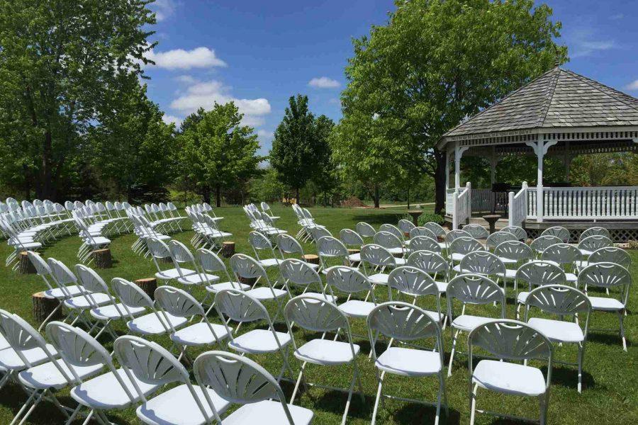Gazebo Wedding Ceremony setup