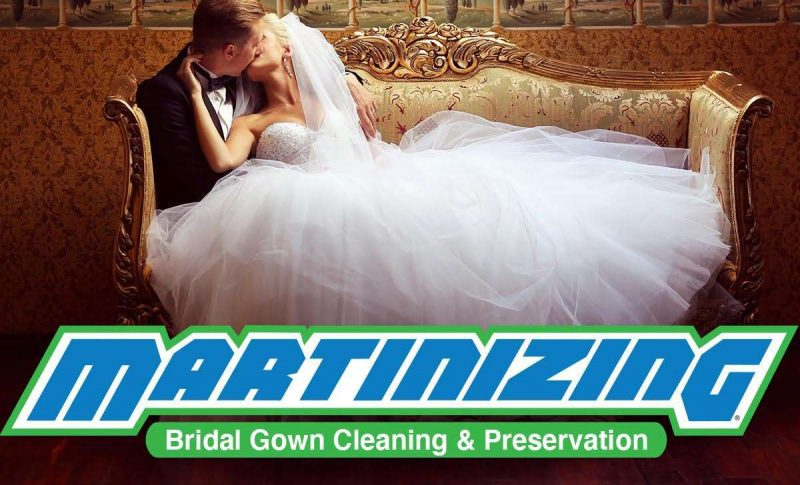 Bridal Gown Cleaning and Preservation by Martinizing