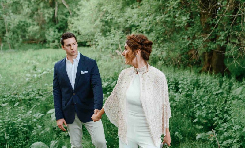 Newlyweds Rosewood Weddings