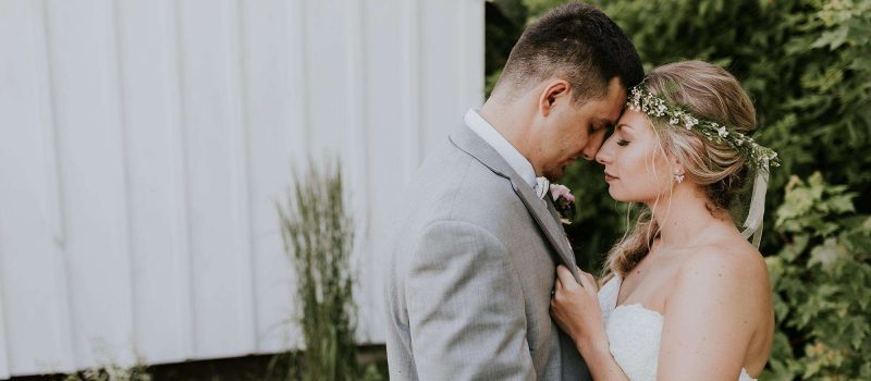 Sam and Alex marry at the Cupola Barn in Oconomowoc