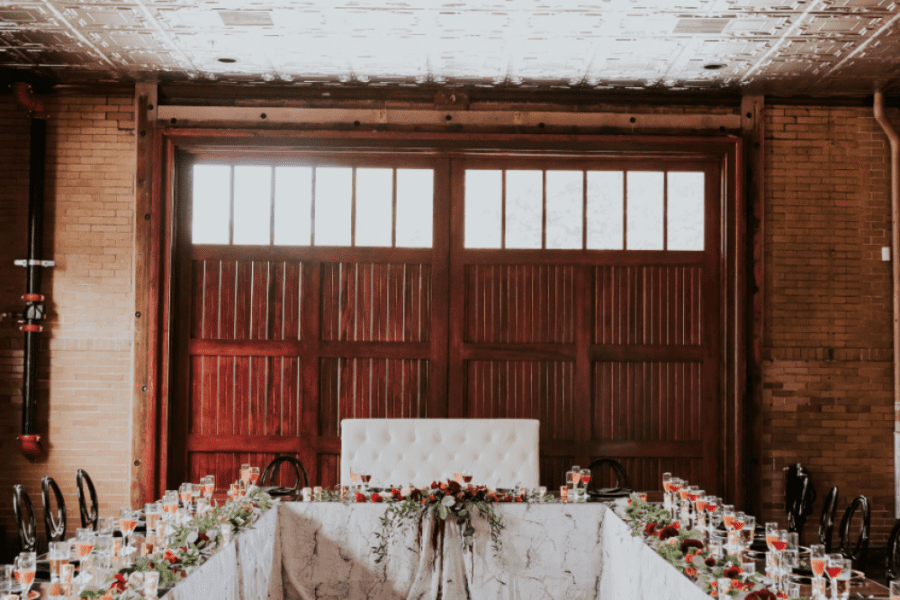 Wedding receptions at Story Hill Firehouse