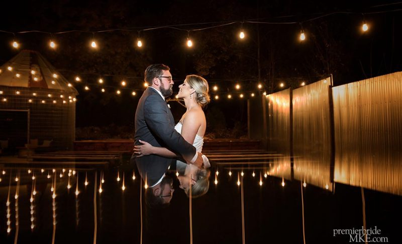 Traci and Adam marry at Terrace 167 in Richfield