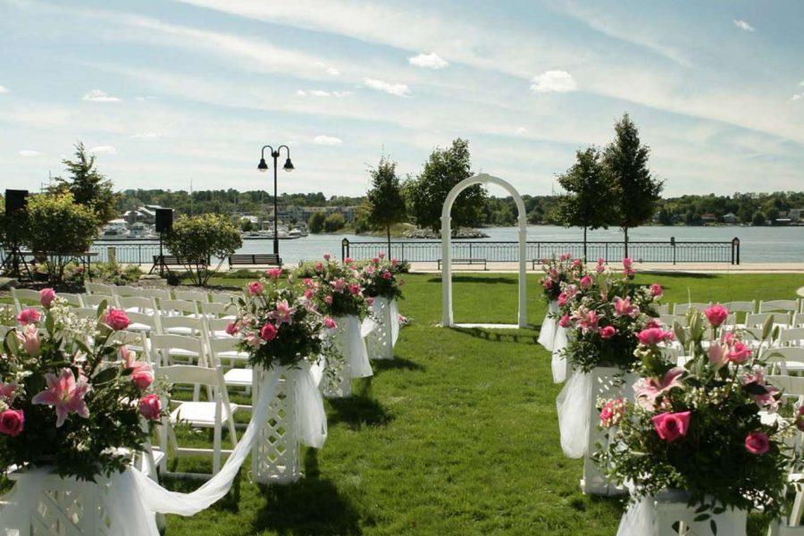 Stone Harbor Outdoor Ceremony