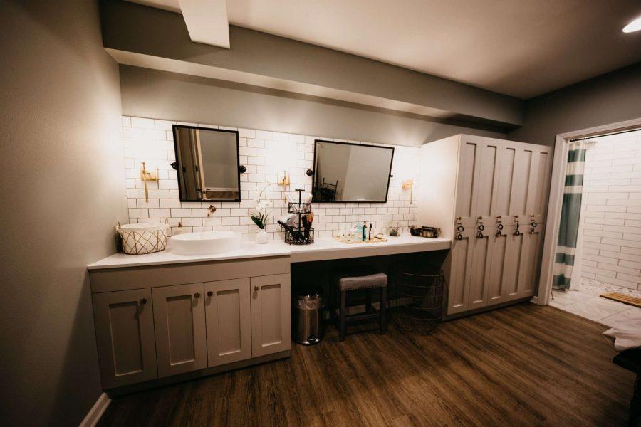 Aqua Beauty Lounge & Med Spa Locker Room