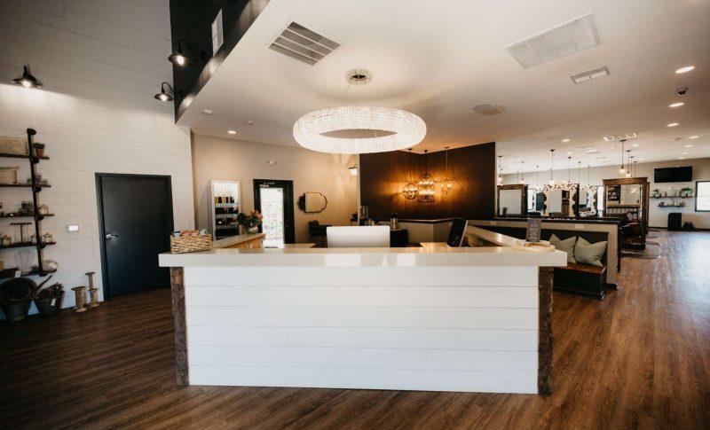 Entrance of Aqua Beauty Lounge & Med Spa