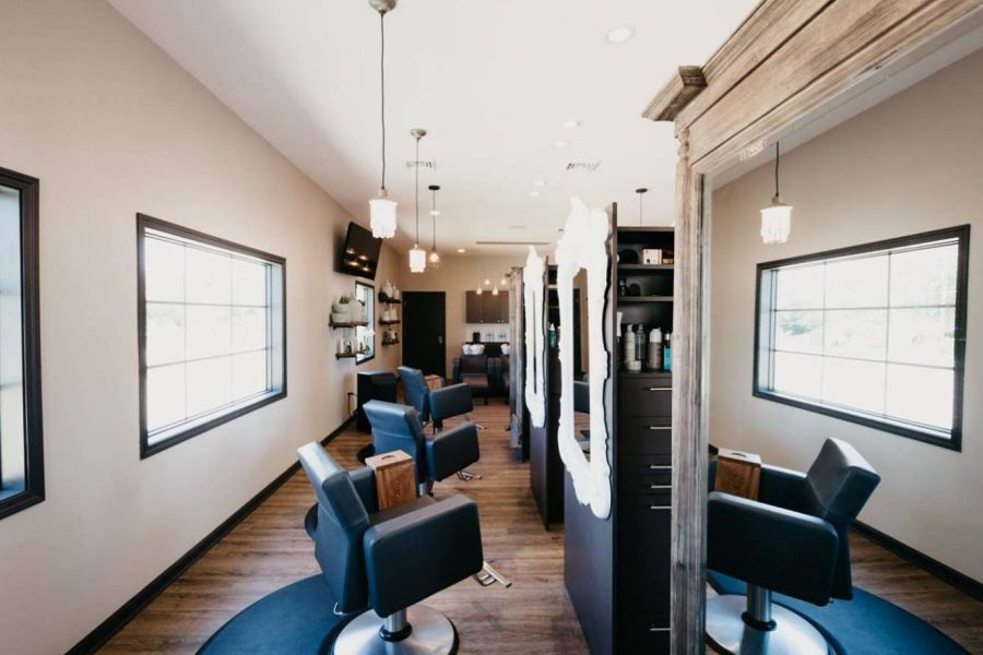 Interior of Aqua Beauty Lounge & Med Spa