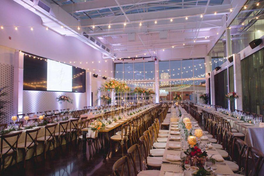 elegant wedding reception in Milwaukee