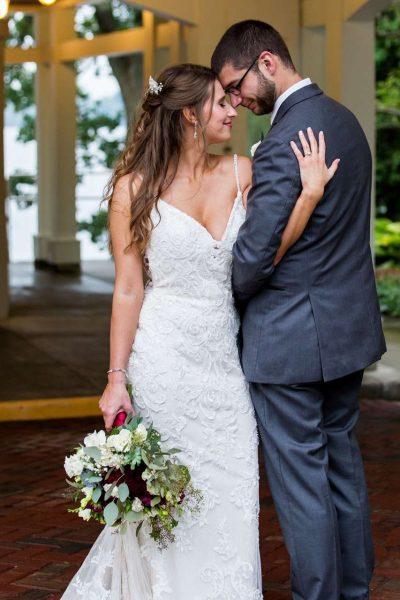 Bride & groom - Bride had hair done at Aqua Beauty Lounge