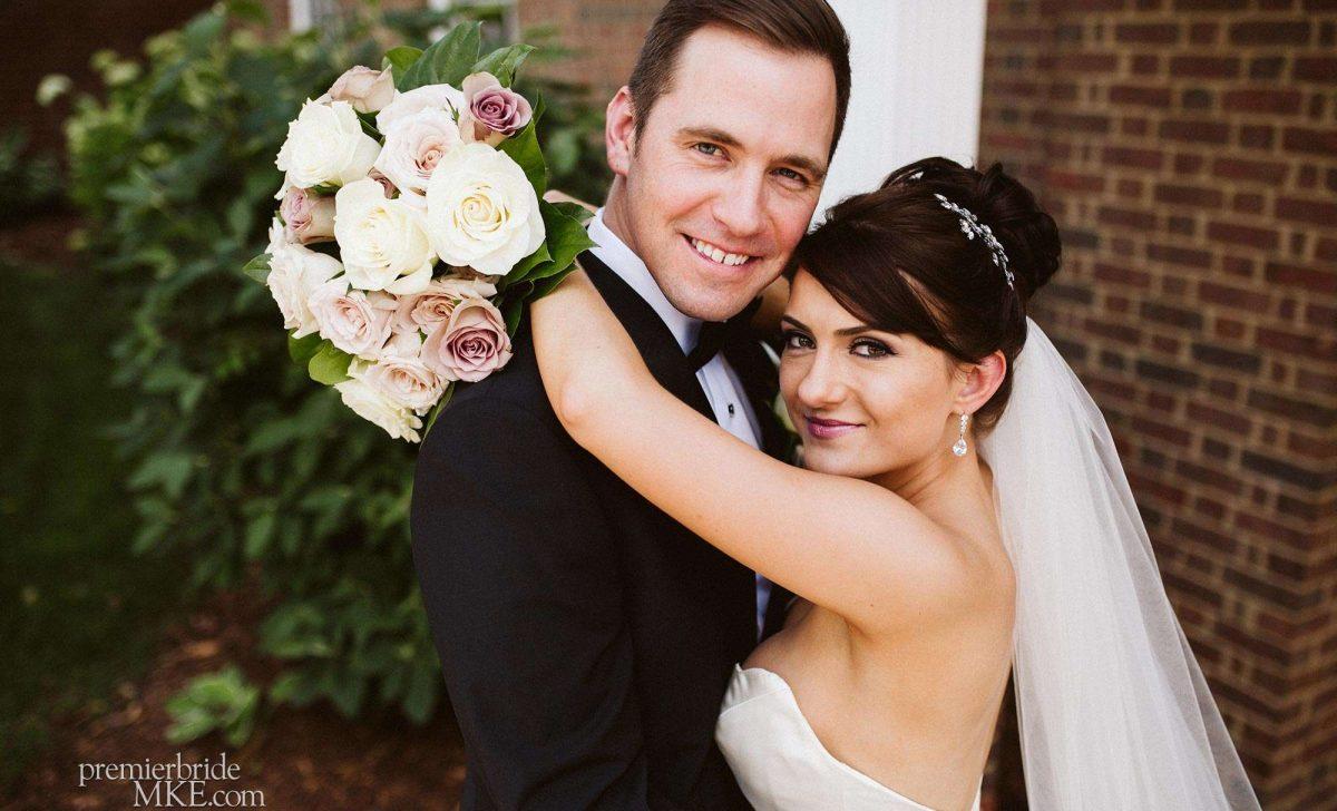Ali and Brett marry at the Delafield Hotel in Delafield, WI