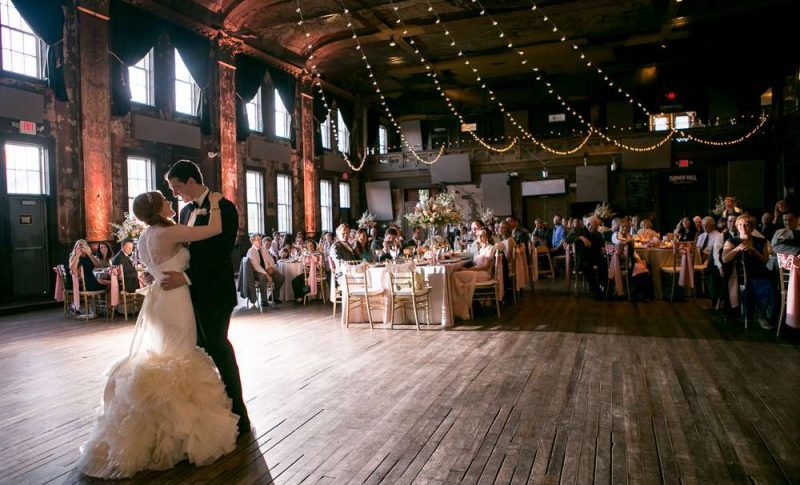 WEdding reception at Turner Hall Ballroom in Milwaukee,WI