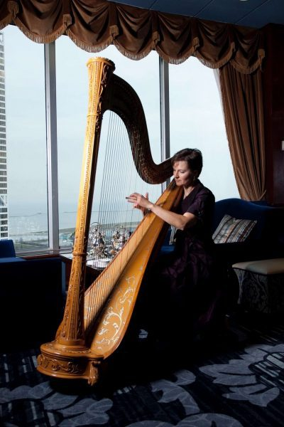 Harp solo for your wedding day-CA Music & Entertainment