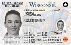 Wisconsin Driver's License