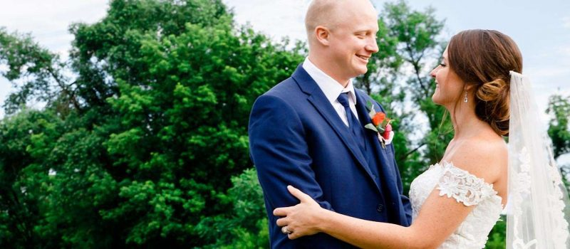 Paige and Chase marry at the Geneva National Resort in Lake Geneva Wisconsin