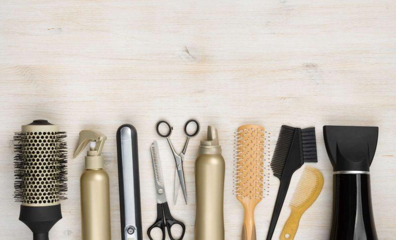hair salon tools