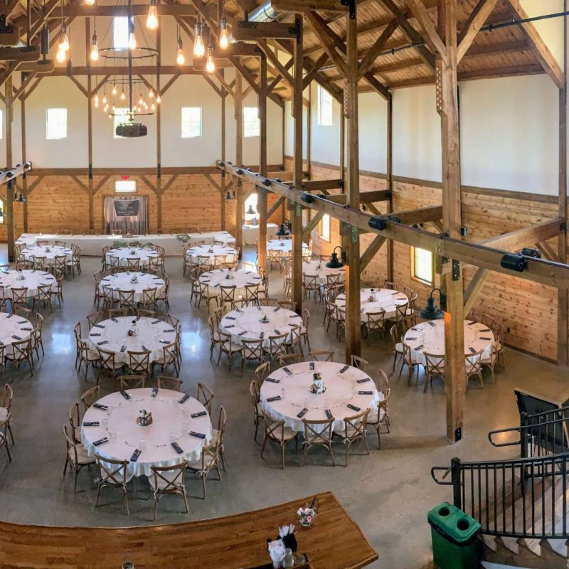 Wedding Open House: The Barn at The Bog