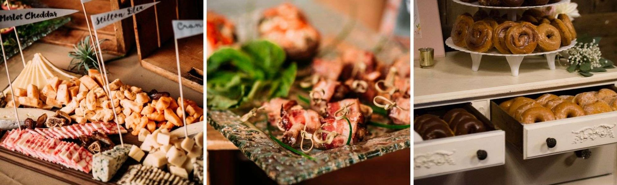 Microwedding Dishes from All Occasions Catering