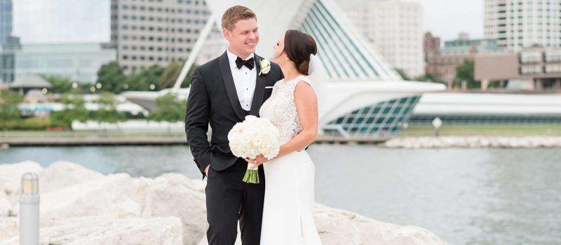 Brooklyn & Kyle's Lakefront Wedding at Discovery World, Milwaukee, WI